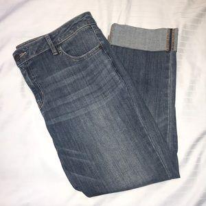 Simply Vera- Vera Wang cropped jeans